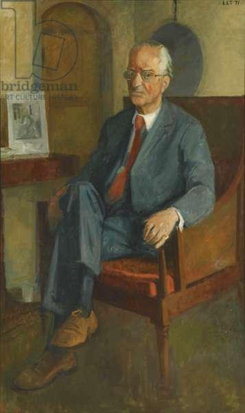 Sir William Hayter (oil on canvas)