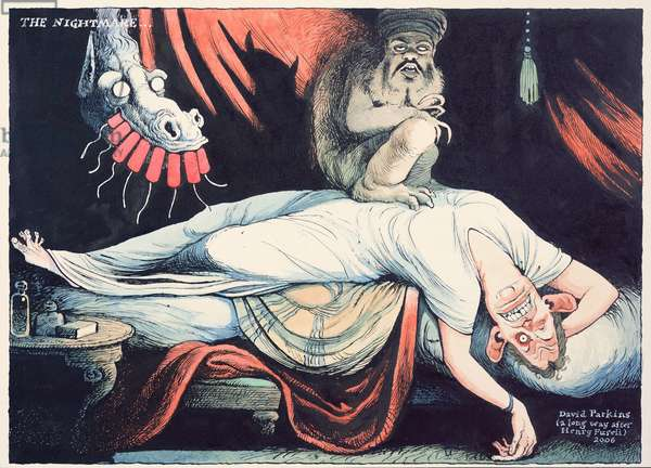 The Nightmare, after Fuseli, 2006 (w/c)