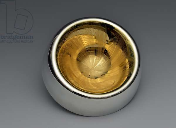 Finger bowl, 2014 (Britannia silver & gold)