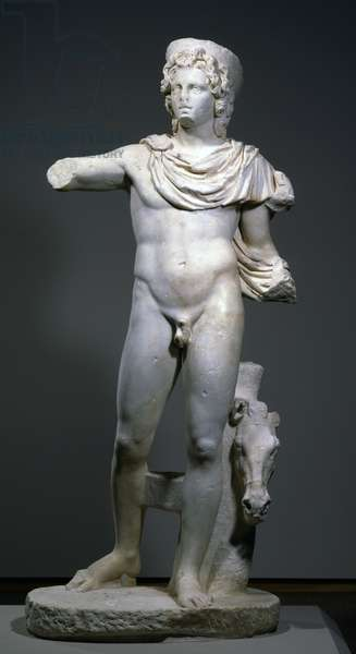 Celestial God or Hero, late 2nd or early 3rd C.E. (marble)