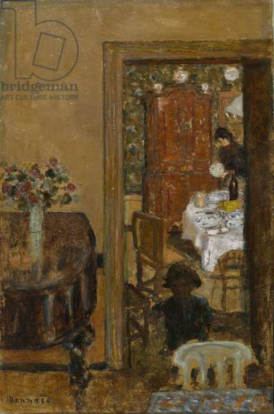 The Lessons, 1898 (oil on board)