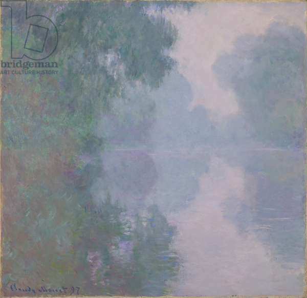 The Seine at Giverny, Morning Mists, 1897 (oil on canvas)