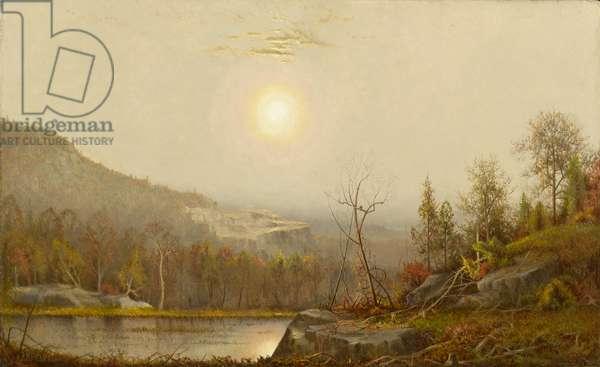 Sunrise, 1868 (oil on canvas)