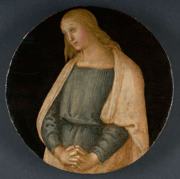 The Mourning St. John the Evangelist, c.1520 (tempera on panel)