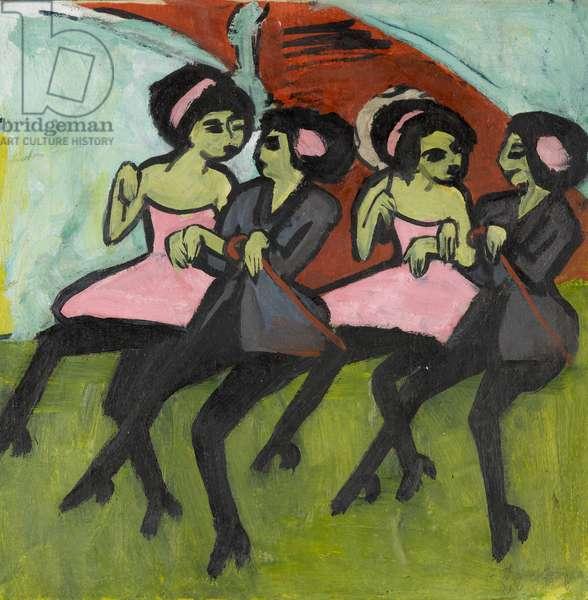 Panama Dancers, 1910-1911 (oil on canvas)