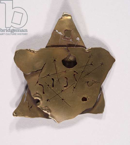 Model for a Memorial to a Deceased Community, 1976 (Metal (brass?))