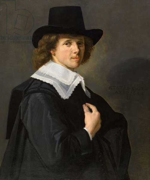 Portrait of a Gentleman, 1644 (oil on canvas)