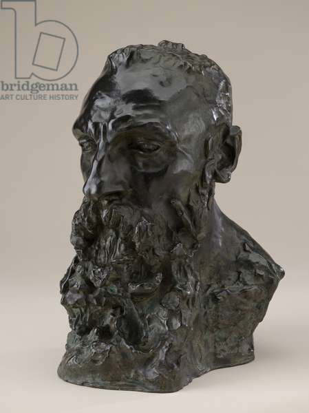 Bust of Rodin, Modeled 1888-1892, date of cast unknown (bronze)