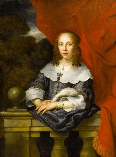 Portrait of a Lady (Margaretha van Raephorst?), 1646 (oil on canvas)