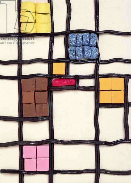 Allsorts 1 (after Mondrian) 2003 (photo)