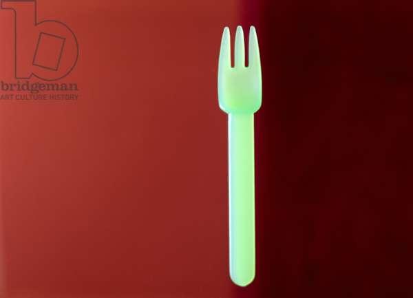 1 Fork (Rothko) 2001 (photo)