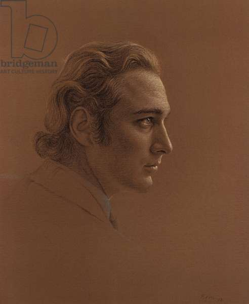 Prince William of Gloucester (pastel on paper)