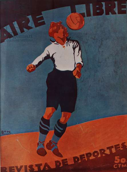 Front cover of 'Aire Libre', c.1920-30 (colour litho)