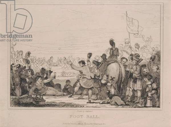 Foot Ball (etching)
