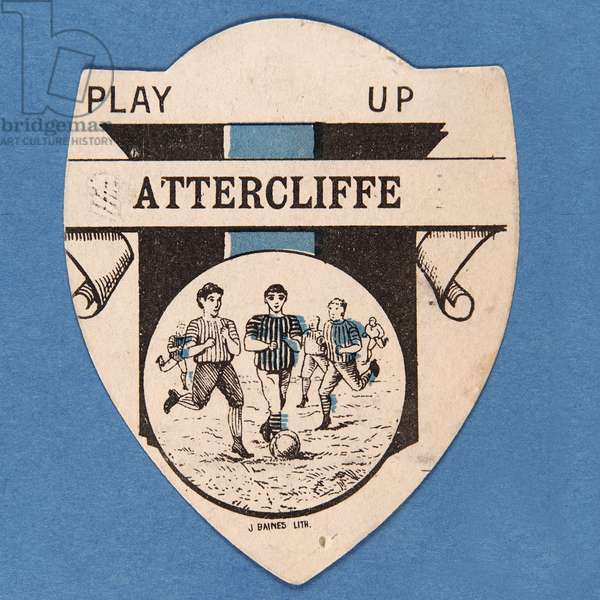 Play up Attercliffe (colour litho)