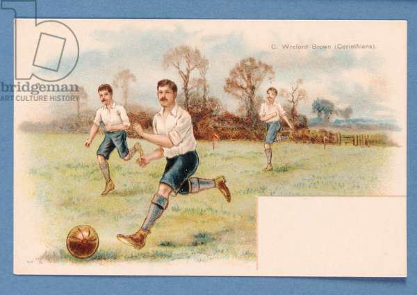 Footballing Father, c.1890-1900 (print)