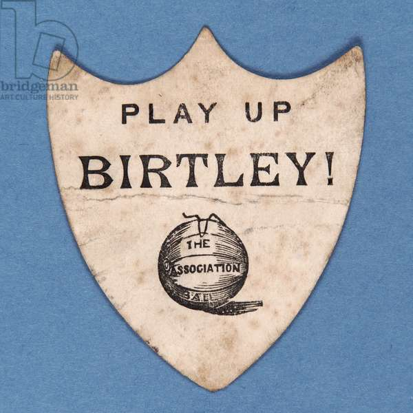 Play Up Birtley! (litho)