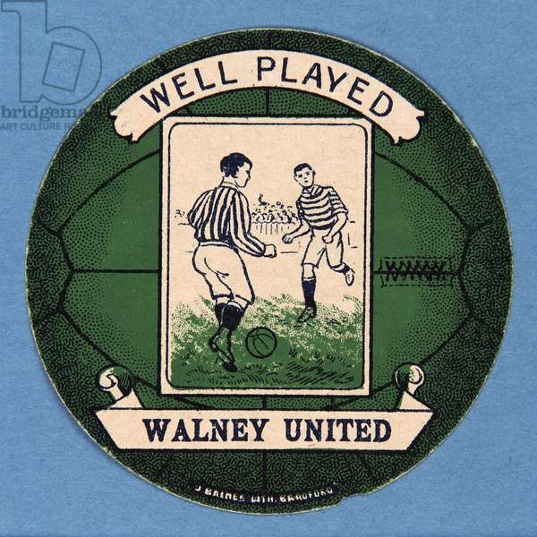Well Played Walney United (colour litho)