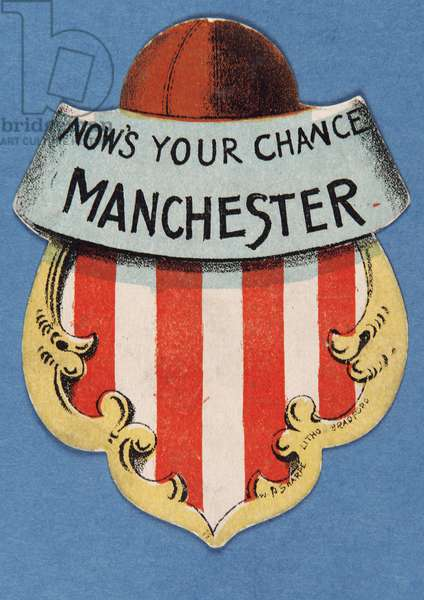 Now's Your Chance Manchester (colour lithograph)