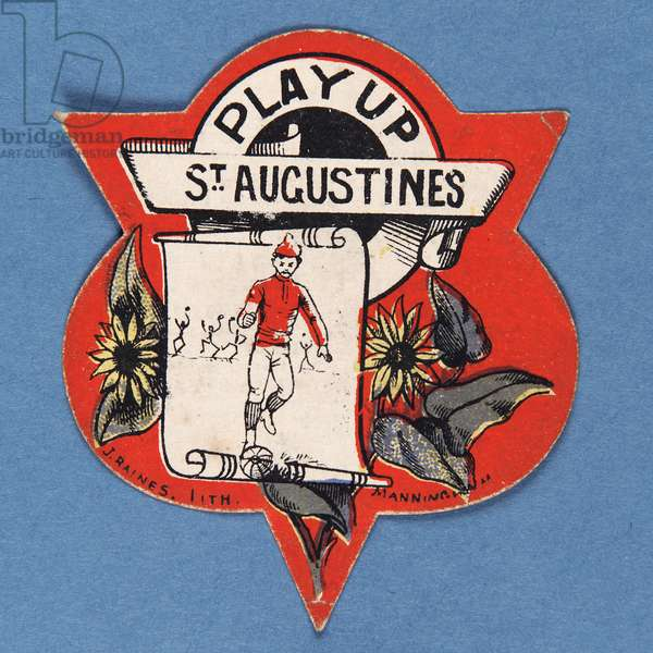 Play Up St. Augustines (colour litho)