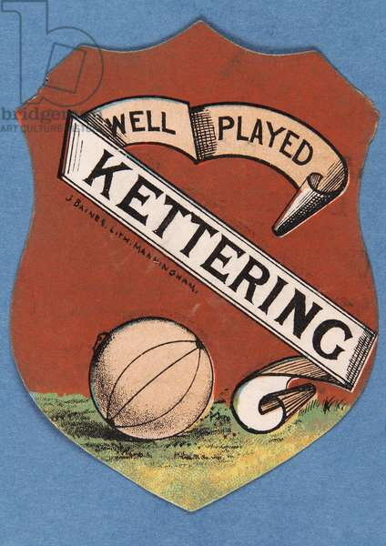 Well Played Kettering (colour litho)