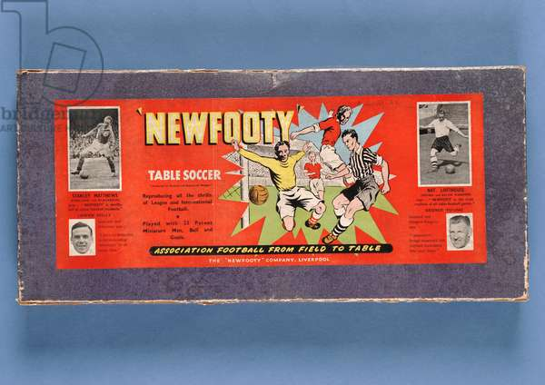 'Newfooty Table Soccer' game, c.1955 (mixed media) (see also 315509)