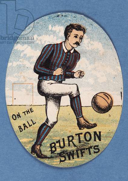 On the Ball Burton Swifts (colour litho)