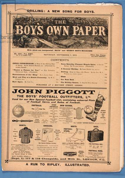 The Boy's Own Paper, 1903 (print)