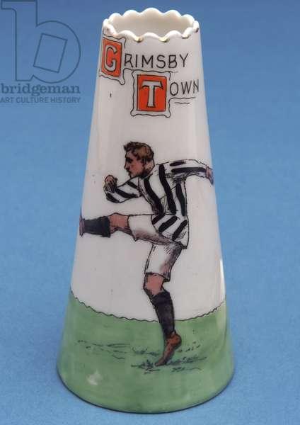 Miniature souvenir of Grimsby Town Football Club, 1901 (ceramic)