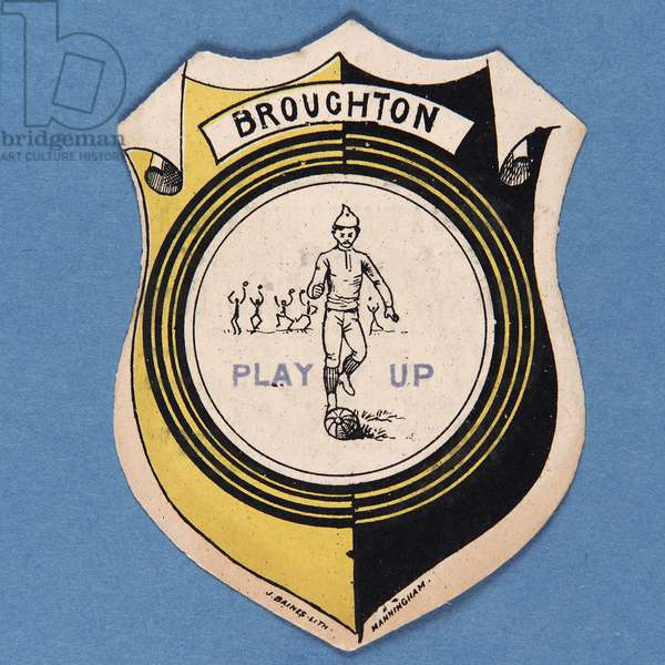 Broughton Play Up (colour litho)