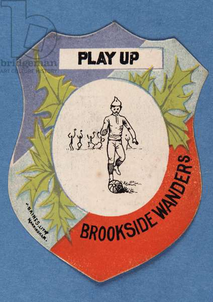 Play Up Brookside Wanderers (colour litho)