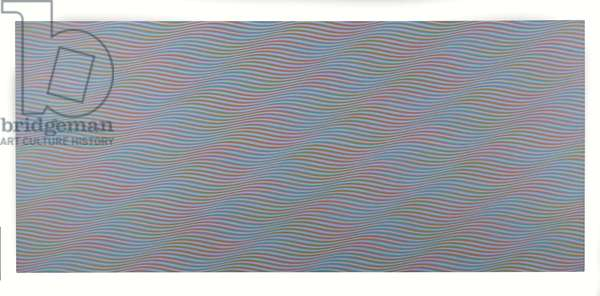 Reef, 1976 (synthetic polymer paint on canvas)