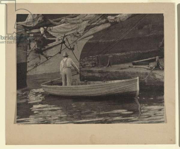 The Boatman, c.1910 (gelatin silver photo)