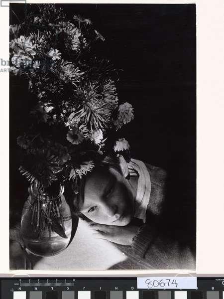 Portrait of my daughter, 1935 (gelatin silver photo)