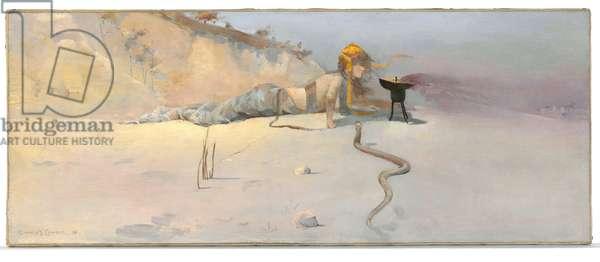 Hot Wind, 1889 (oil on board)