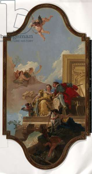 Marriage allegory, c.1737-47 (oil on canvas)