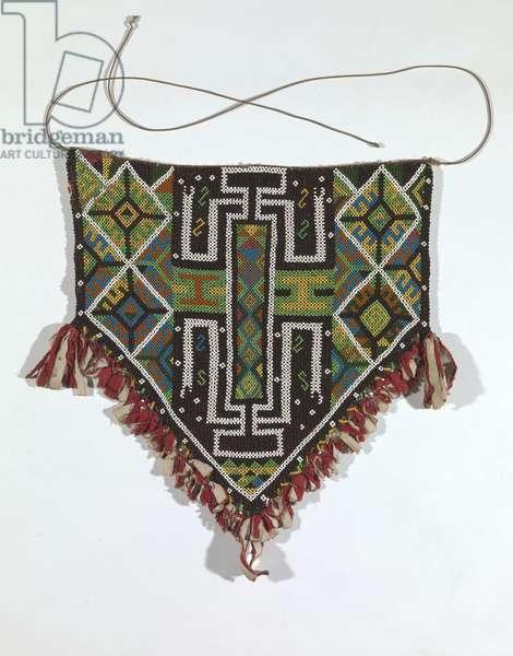 Woman's dance apron, Doreri district, West Papua, Indonesia, early 20th century (textile)