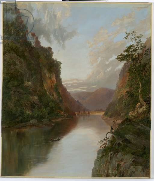 On the Nepean, New South Wales, 1881 (oil on canvas)