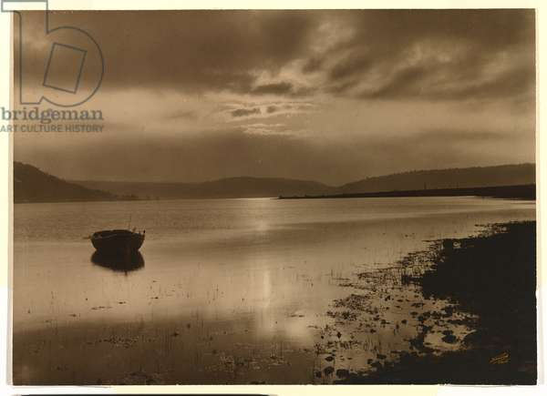 Solitude (Lake St. Clair, Tasmania) 1906 or earlier (gelatin silver photo)
