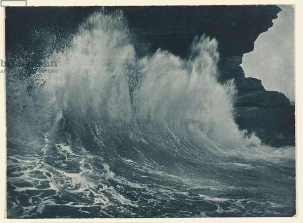 The last break, c.1912 (carbon photo)
