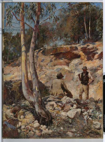 Fossickers, 1893 (oil on canvas)