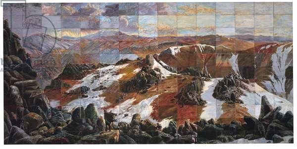 Mount Analogue, 1985 (mixed media)