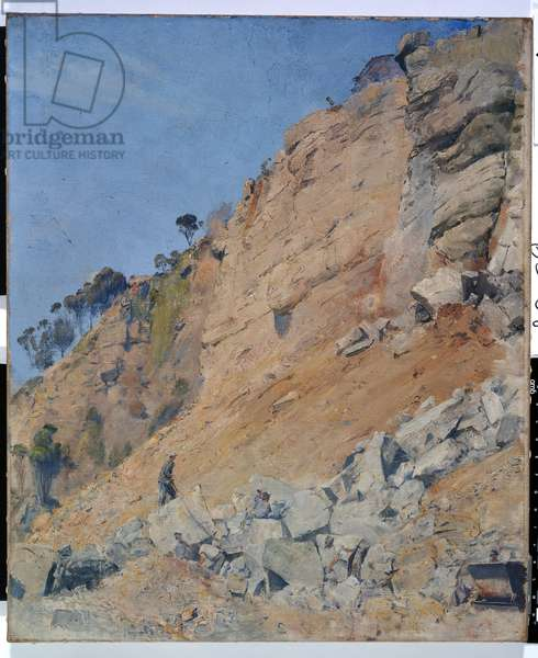 The Quarry, Maria Island, 1926 (oil on canvas)