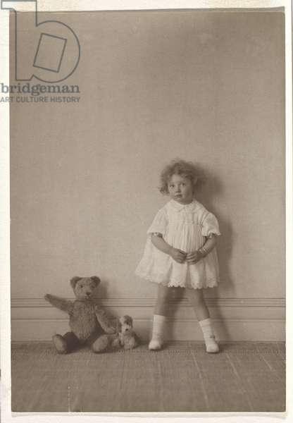 Miss Beggs, c.1928 (gelatin silver photo)
