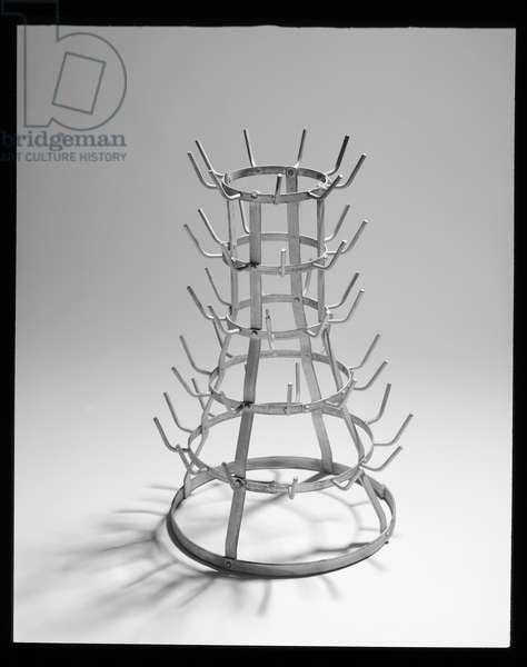 Bottle Dryer (Bottle Rack) 1914, reconstructed 1964 (galvanised iron)