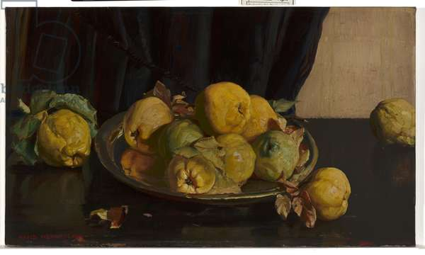 Still Life with Quinces, 1924 (oil on canvas)