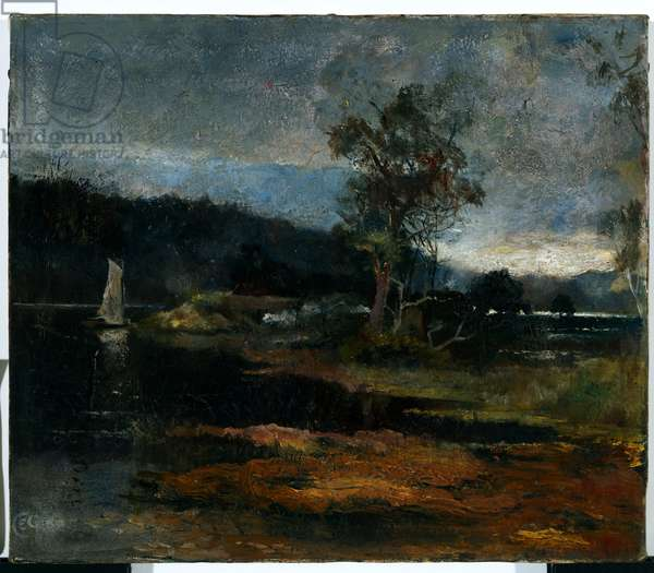 Low Tide, Hawkesbury River, 1887 (oil on canvas)