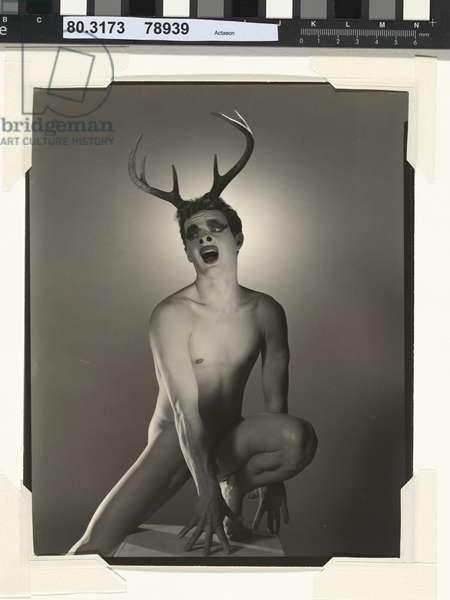 Actaeon, c.1938 (gelatin silver print)