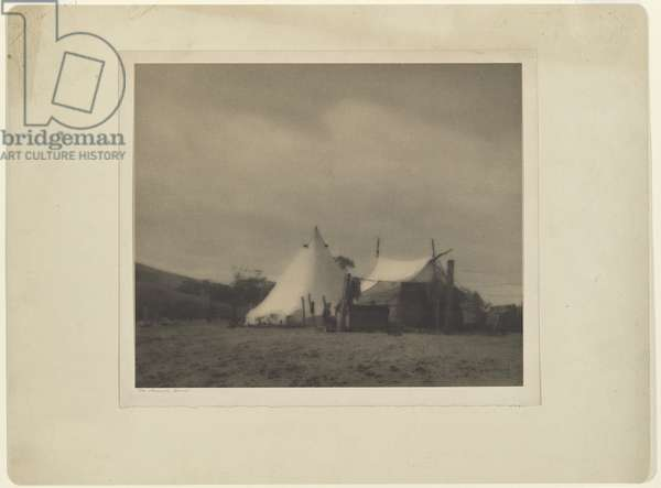 The nomad's home, c.1910 (carbon photo)