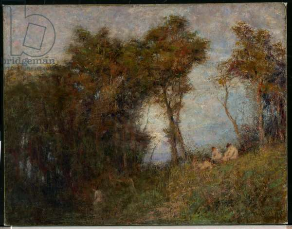 Afterglow (Summer evening) 1912 (oil on canvas)